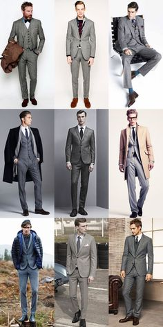 The Return Of The Grey Flannel Suit Lookbook Inspiration