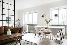 Home tour: How to use a window wall as room divider | Kreavilla