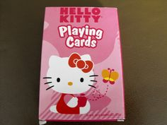 Hello Kitty Playing Cards :D