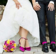 Brautschuhe Rainbow