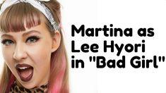 Lee Hyoris Bad Girl Makeup Look, with Jung Saem Mool. Jung Saem Mool makeup videos are some of my favorites.