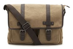 Beige-braune Messenger-Bag im Washed-Look passend zu Sneaker, Clarks Menai Bay, 86,95 Euro: http://www.clarks.de/p/20359084