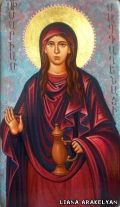 Mary Magdalene, one of the seven Myrrhbearers and an apostle to the apostles