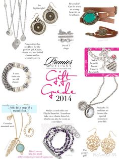 Pick a gift! Premier Designs 2014 Holiday Collection Contact me and get yours free! bedazzledbydeb@comcast.net