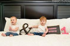 Twin girls turn 1!