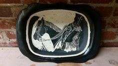 Laughing Horse, Pottery, Horses, Plates, Tableware, Ceramica, Licence Plates, Dishes, Dinnerware