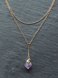 Add some boho sparkle to your look. Gold dipped amethyst pendant to leave a gold sheen at the tip. Handmade and unique jewelry. Sterling Silver Jewelry, Gemstone Jewelry, Antique Jewelry, Vintage Jewelry, Raw Crystal Jewelry, Amethyst Pendant, Amethyst Crystal, Amethyst Necklace, Crystal Pendant Necklace