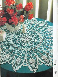 Crochet and arts: napkins new 6