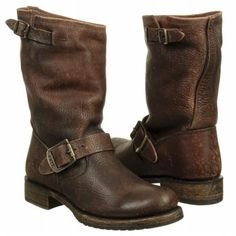 Women's Frye Veronica Short Dk Brown Antique Shoes.com - $298 - Why are you so expensive, shoes?