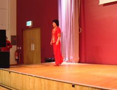 """NIDA Multi-Cultural Fashion Show at """"Your North Somerset"""" Event in Weston-Super-Mare (26th January 2013)."""