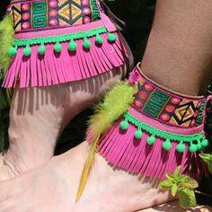Ethnic ankle bracelet