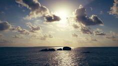 Sunset. Pantai Awan Mendung, Belitung