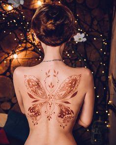 Henna by - Henna Ink, Henna Body Art, Mehndi Tattoo, Henna Tattoo Designs, Henna Mehndi, Body Art Tattoos, Henna Tattoo Wrist, Henna Mandala, Mandala Tattoo