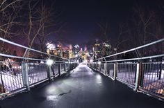 Bridge to Prince's Island, Calgary