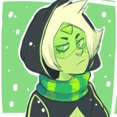 Peridot, Christmas, Steven universe    tumblr: Drunk rose district