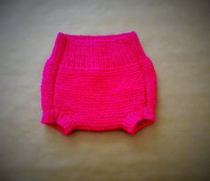 Hand Knitted Baby Girl Bloomers Knickers by HandKnittedYorkshire