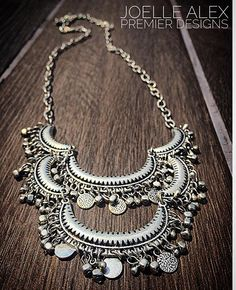 """The NEW @premierdesignsinc """"Flamenco"""" necklace is HOT for fall!! This statement piece will complete any outfit instantly!! #fallfashion…"""