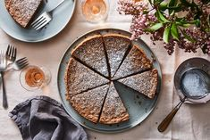 Flourless pecan cake from Food52