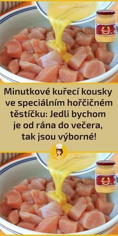 Slovak Recipes, Czech Recipes, Snack Recipes, Cooking Recipes, Snacks, Food Humor, Food To Make, Chicken Recipes, Easy Meals