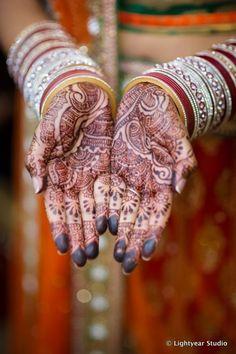 Bride Mehendi #indianwedding