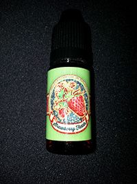818vapor.com juice review of Rocketfuel Strawberry Fields - this stuffy is yummy