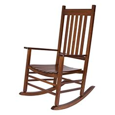 Shop Shine Maine Oak Hardwood Porch Rocker with great price, The Classy Home Furniture has the best selection of Outdoor Chairs to choose from