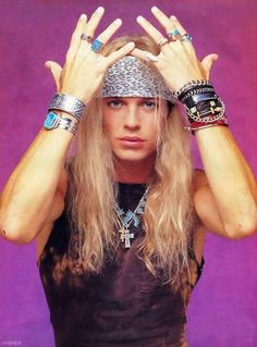 Bret Michaels ♡ Bret Michaels Poison, Bret Michaels Band, Hair Metal Bands, 80s Hair Bands, Gerard Way, Music Memes Funny, Glam Metal, Rock Of Ages, Rock Outfits