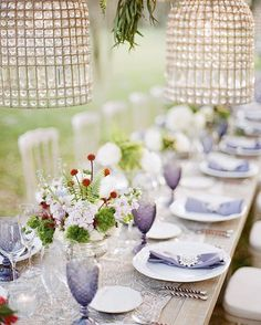 Elegant Autumn Plantation Wedding Inspiration in Charleston Wedding Table Deco, Deco Table, A Table, Wedding Tables, Wedding Reception, Purple Table Settings, Reception Decorations, Table Decorations, Centerpieces