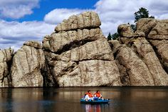 Sylvan Lake, Custer State Park.
