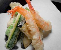 Uno de los platos de nuestro Menú Japonés, tempura