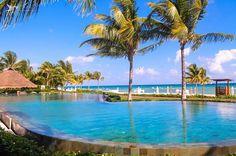 #GrandVelas #RivieraMaya  Зачем выбирать между бассейном и пляжем, если можно выбрать одновременно и то, и другое?