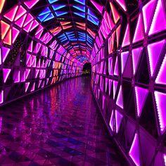 Pretty lights at Tokyo Dome City