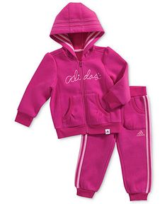 Now the question is...which color? :) (adidas Kids, Little Girls 2-Piece Set - Macy's)