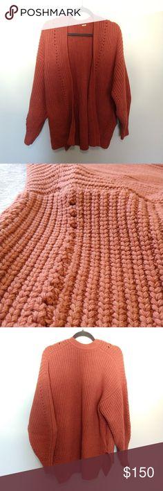 05d03f5b61 Free People Plush Oversized Wool Cardigan Plush