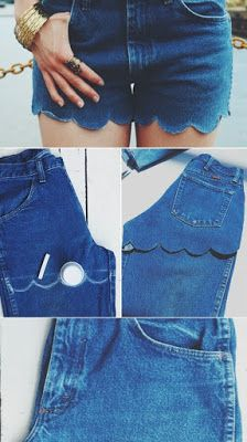 Jeans are like my second skin. I wear them everyday, everywhere and anywhere. If you're like me and you find it hard letting go of those once loved jeans, here are a list of some mind-blowing tutorials for DIY Jeans.