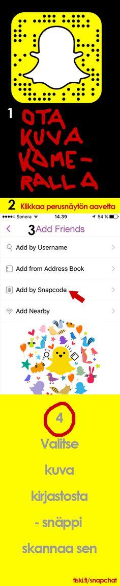 Kuinka Snapchat toimii? Blogissa ohjeet aloittajalle
