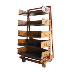 A-frame Machinist Cart : Aurora Mills Architectural Salvage