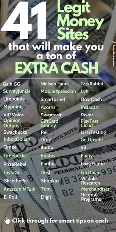 41 Legit Money Sites that will make you a ton of extra cash - Online Courses - Ideas of Online Courses - Tired of make money online scams? These 41 legit money sites are all you need to make a ton of cash and withdraw your money today. Earn Money Online Fast, Ways To Earn Money, Earn Money From Home, Money Saving Tips, Way To Make Money, Money Today, Money Fast, Money Tips, Saving Ideas