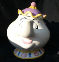Disney Mrs. Potts Cookie Jar