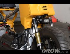 DROWsports Honda Ruckus with Rigid SMR 2 LED Light