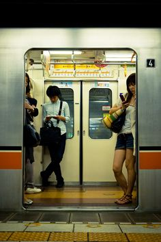 Subway in Tokyo, Japan Tokyo Subway, Nyc Subway, Urban Photography, Street Photography, Grunge Photography, Colour Photography, S Bahn, Photos Voyages, Urban Life