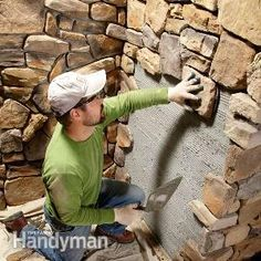 Install a Stone Veneer Wall - Modern Stone Installation Tips - Modern stone veneer walls are attractive, durable and nearly maintenance free.