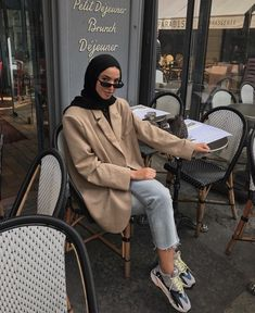 Ideas fashion hijab summer outfit ideas for 2019 6 Modest Fashion Hijab, Modern Hijab Fashion, Street Hijab Fashion, Hijab Fashion Inspiration, Muslim Fashion, Boho Fashion, Style Fashion, Fashion Ideas, Modest Wear