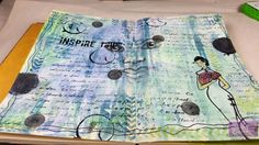 Trena's Stampin' Headquarters: Colorful Journal Page