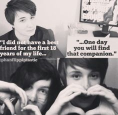 Dan and Phil. <3