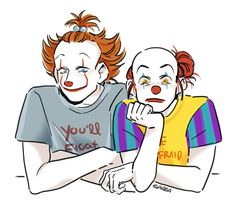 Penny y Pennywise two cents - Esta relación se llama Two Cents - Wattpad Scary Movie Characters, Scary Movies, Horror Movies, Penny Wise Clown, Michael Myers, Freddy Krueger, Babadook, Le Clown, Pennywise The Dancing Clown