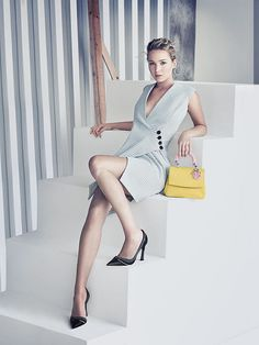 The latest Christian Dior campaign ads for the 'Be Dior' style of handbags are…