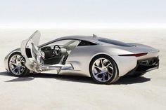 Jaguar C-X75 Concept, um dos carros de luxo mais comentados do setor.