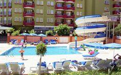 På Riviera Apart i Alanya trives hele familien! På dette populære og nyrenoverede hotel hygger børnene sig i poolen med vandrutsjebane. Se mere på http://www.apollorejser.dk/rejser/europa/tyrkiet/alanya/hoteller/riviera-apart