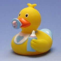 Baby Badeente Junge
